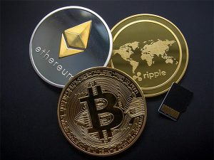Cryptocurrency Bitcoin Ripple Etherum