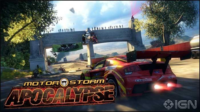 Motor storm video game
